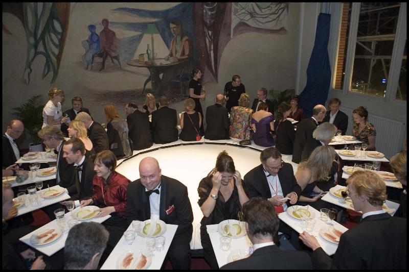 Nederland, Amsterdam, 27-10-2006 Tijdens het tweede Nationale Cultuurbal in de Schouwburg in Amsterdam. Foto Marco Okhuizen